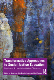 Book cover for Transformative Approaches to Social Justice Education