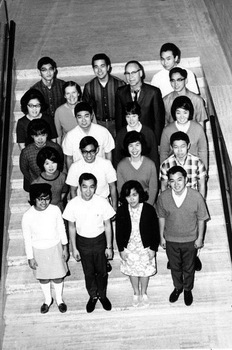 Group of Asian Americans